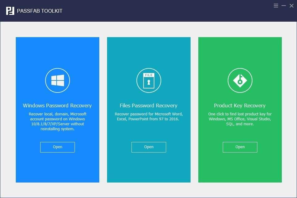 PassFab ToolKit – パスワード 回復 バンドル